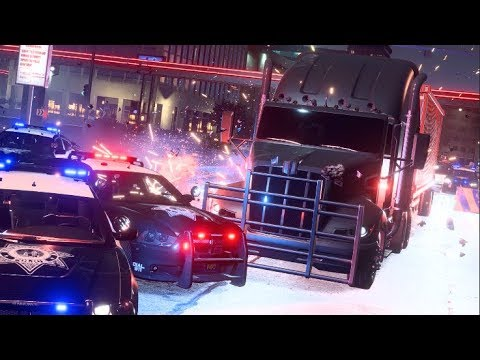 Need For Speed Payback Ep21 - Driving a 18 Wheeler Truck!! CUTSCENES!!