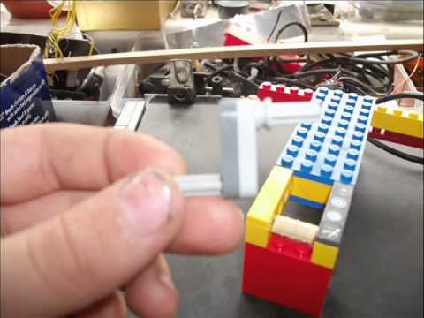 2 Cylnder Lego Air Engine Instructions Youtube