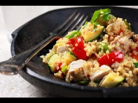 Best Lean Protein Food Grilled Chicken with Quinoa and Vegetables