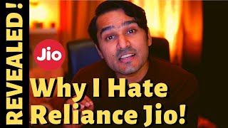 Why I Hate Reliance Jio! Facebook Deal! Largest Telco In India!