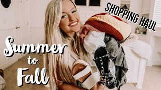 SUMMER TO FALL TRANSITION PIECES - Vici Dolls Shopping Haul!