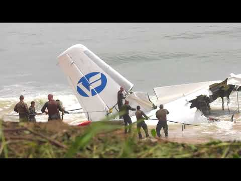 Crash d'un avion à Abidjan