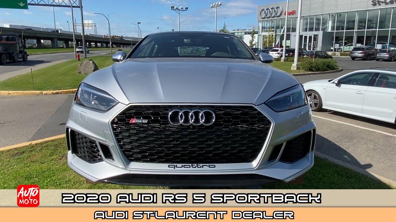 2020 Audi RS5 Sportback - Exterior And Interior - Audi Dealer, Saint-Laurent