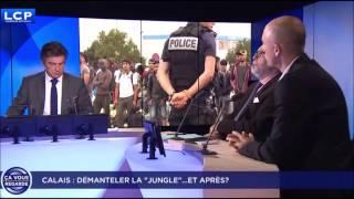 AVANT LE DEMANTELEMENT DE LA JUNGLE DE CALAIS