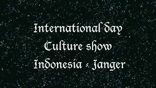 Janger Indonesia Culture show Music (International Day 2012)