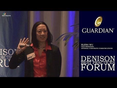 Denison Best Practices Forum 2014 - Guardian Life Insurance Company of America