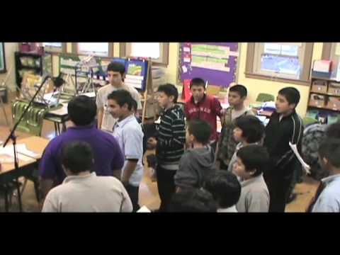 Puzzle Pieces - Eli Whitney Middle School Boys - America SCORES Chicago