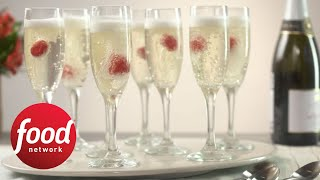 Champagne Jelly Flutes You Eat with a Spoon | Food Network