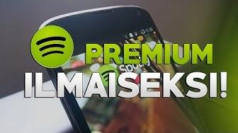 Kuinka saada Spotify Premium ilmaiseksi!