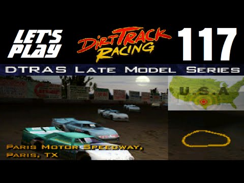 Let's Play Dirt Track Racing - Part 117 - Y10R9 - Paris Motor Speedway