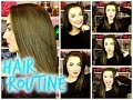 My Haircare Routine || Tips for Growing Your Hair and Keratin Treatment