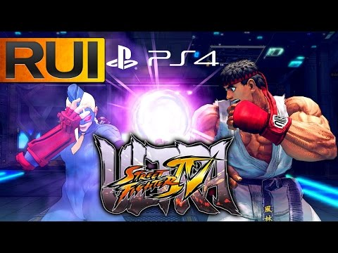 Super Street Fighter 4 Ultra PS4 Gameplay Impressions