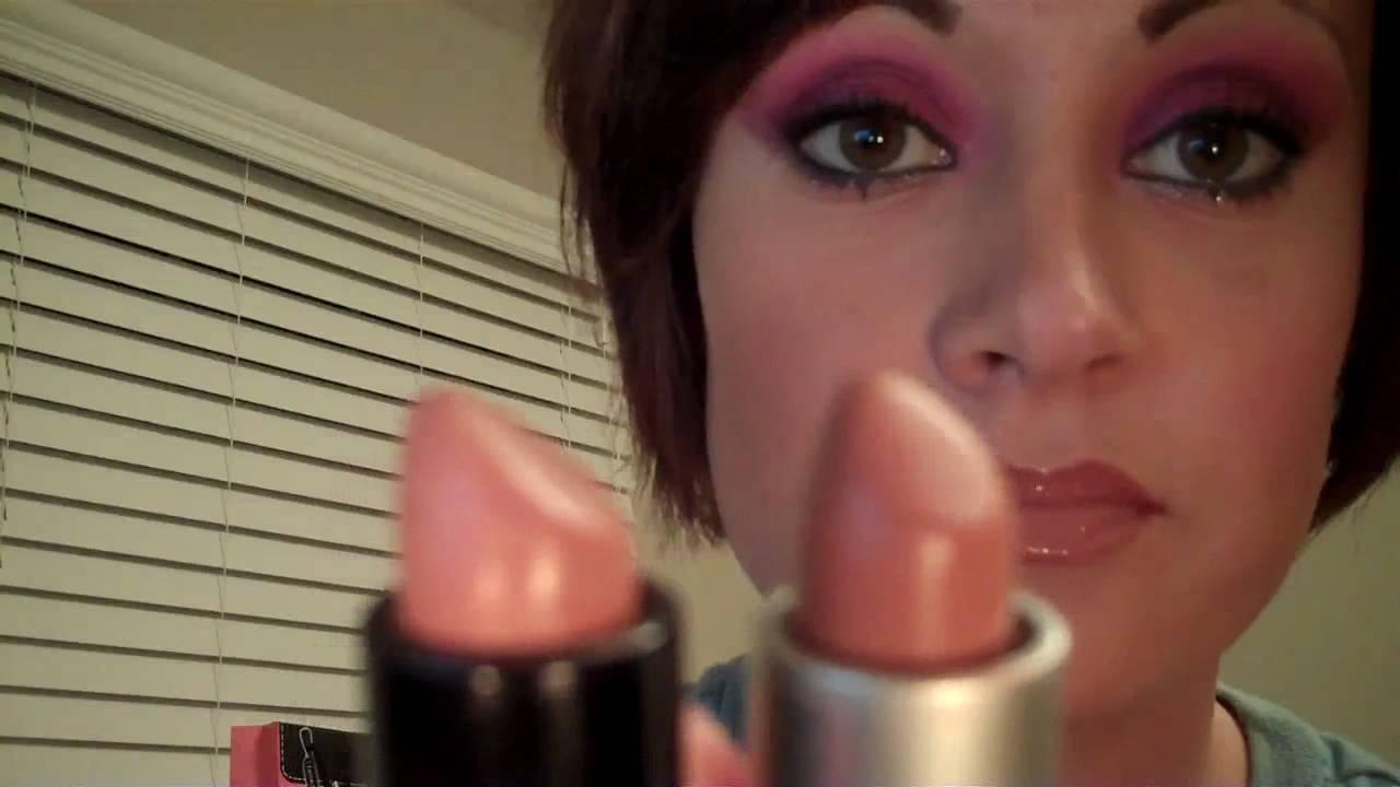 MAC Nude Lipsticks: Take Your Pick! - YouTube