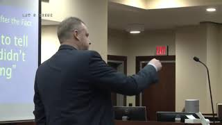 Denise Williams Love Triangle Trial Prosecution Closing Argument 12/14/18 thumbnail