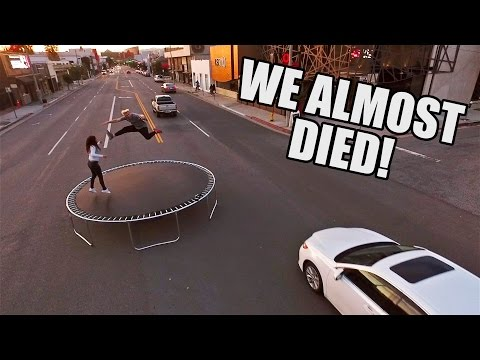 Thumbnail: TRAFFIC TRAMPOLINE