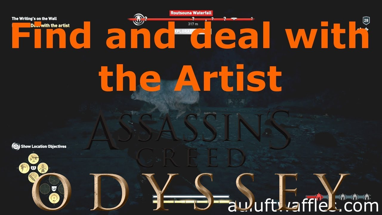 Find And Deal With The Artist The Writing S On The Wall Naxos