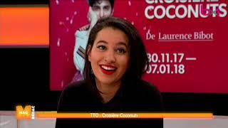 """Théâtre: Laurence Bibot nous emmène dans """"La croisière Coconuts"""""""