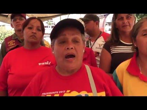 Operativo de Alimentos en La Ceiba en Los Teques
