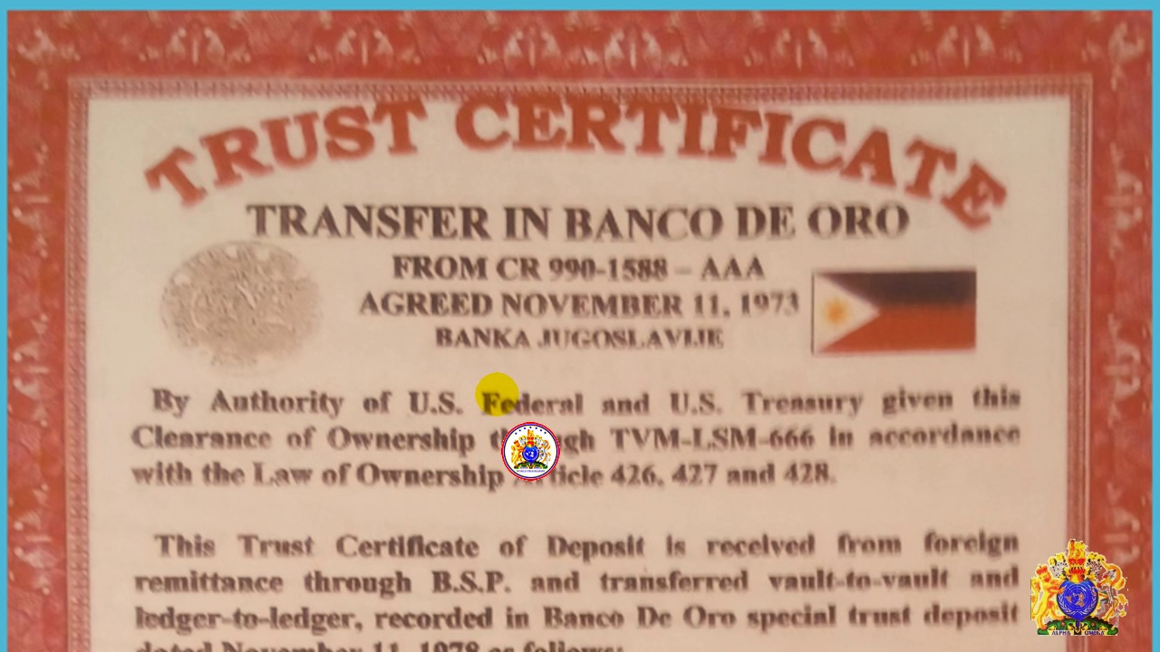 Hrh tvm lsm 666 various trust deposit at banco de oro youtube tvm lsm 666 various trust deposit at banco de oro xflitez Images