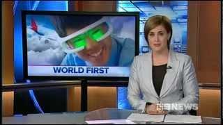 Nine Network - Re-Timer glasses 21 Nov 2012