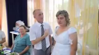 Вот это невеста! Мега прикол на свадьбе! СУПЕР ЖЕСТЬ!!! КАЗУС!!! КУРЬЁЗ!!!