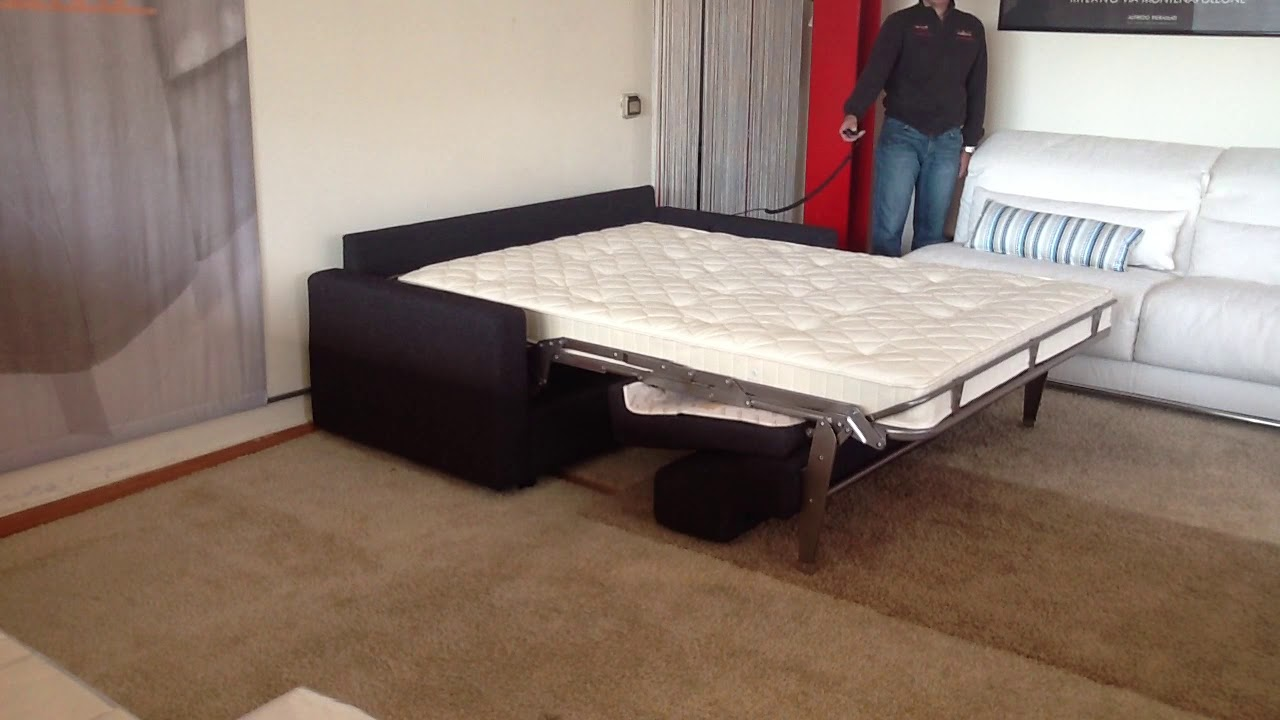 Lampo Motion Electric Sofa Bed - YouTube
