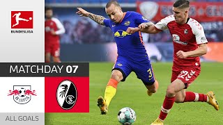 #rblscf | highlights from matchday 7!► sub now: https://redirect.bundesliga.com/_bwcs watch all goals of rb leipzig vs. sc freiburg 7 2020/2...