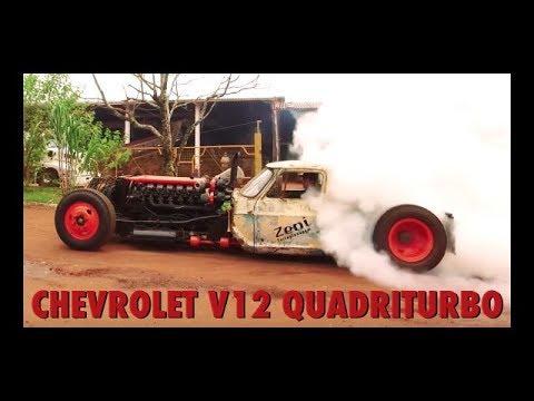 Chevrolet V12 Quadriturbo – Um caminhão de outro Planeta