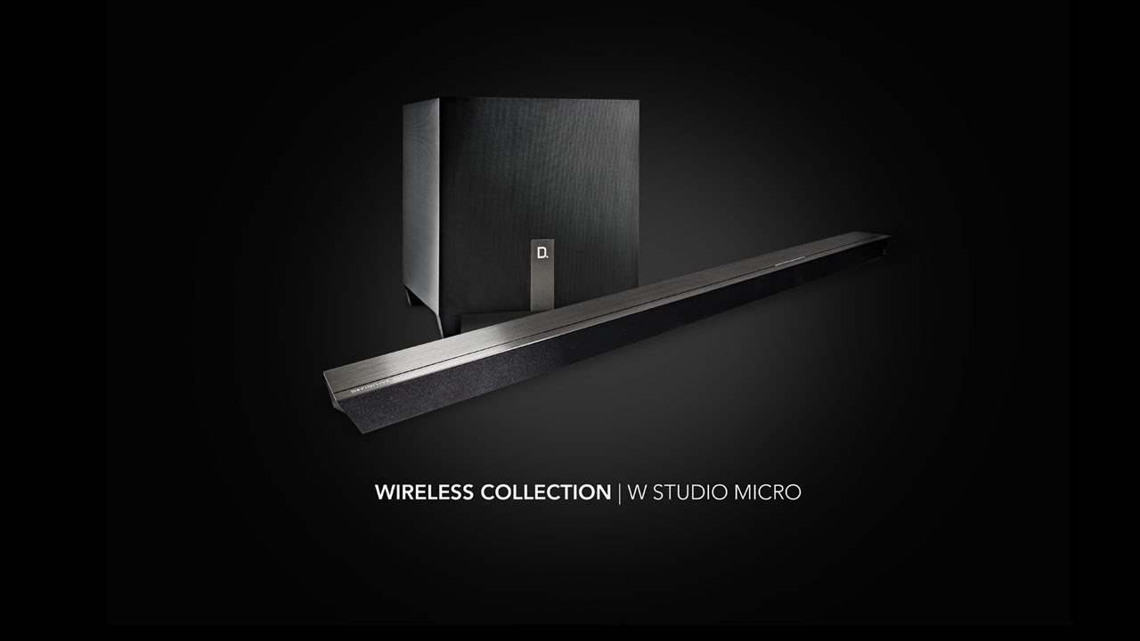 definitive technology w studio. definitive technology \u2013 learn more about the w studio micro sound bar system