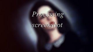 Урок по обработке скриншота в фотошопе Cs6