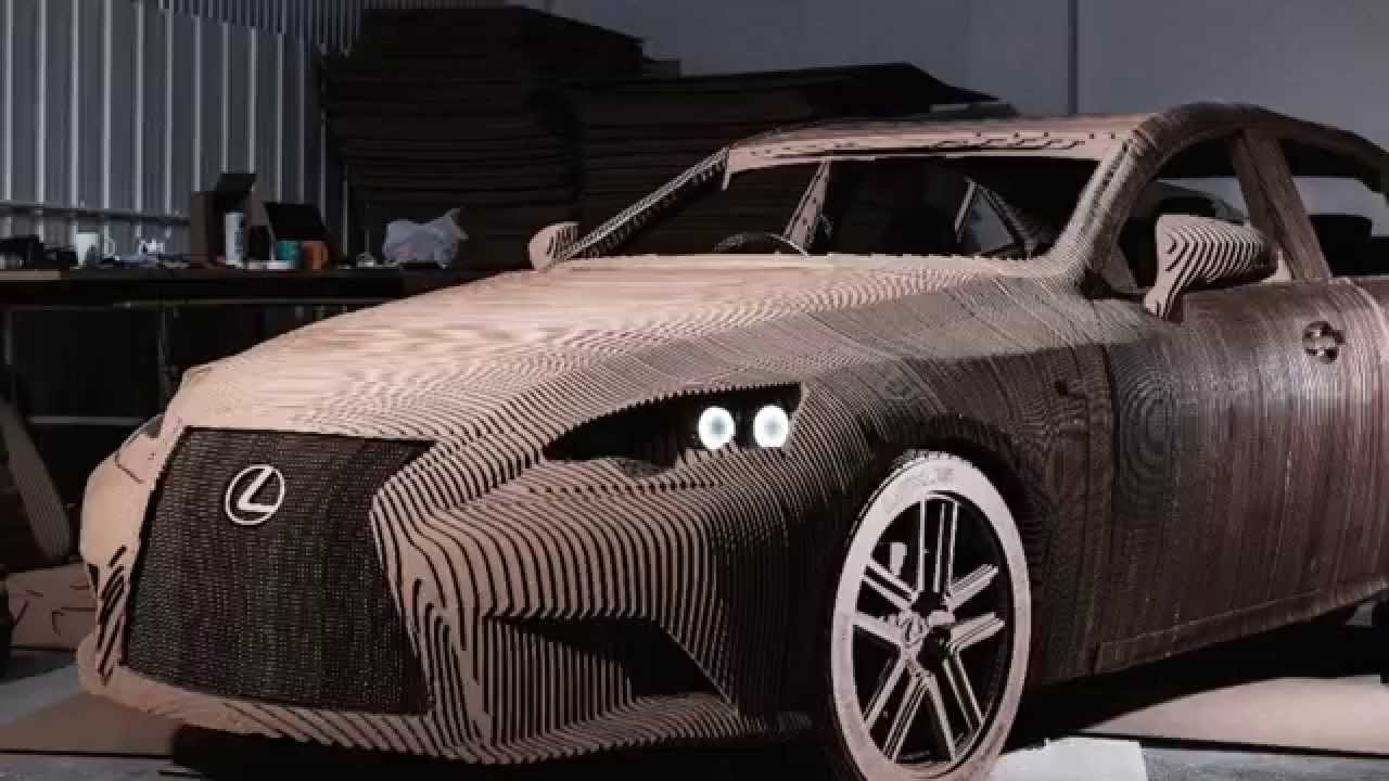 Ds Smith Cardboard Lexus Car Youtube