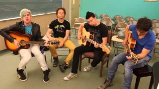 "Marianas Trench: ""Fallout"" acoustic on A-Sides"