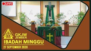 Firman Yang Merangkul Perbedaan - Ibadah Minggu, 27 September 2020