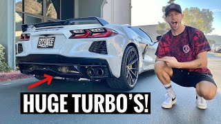 Taking Delivery of my Twin Turbo C8 Corvette! + *RAW TURBO AUDIO*