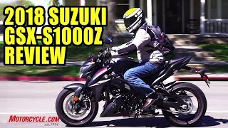 2018 Suzuki GSX-S1000Z Long-Term Review