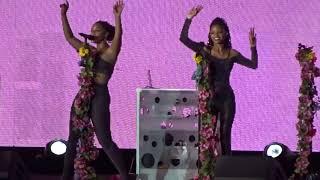 Chloe x  Halle -  Down (live) | Cool People (live) | OTRII TOUR | Rose Bowl, Pasadena | 9-23-18
