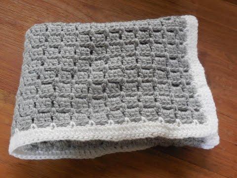 babydeken haken  baby blanket crochet beginner  YouTube