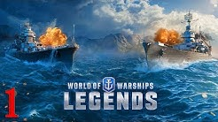 World of Warships Legends ⚓️Gamplay🌊 #01 [PS4] (German/Full-HD)
