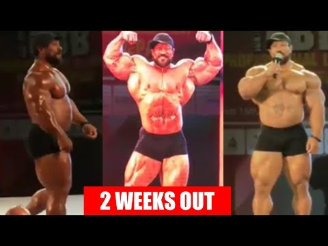 Roelly Winklaar Guest Posing 2 Weeks Out from Arnold Classic