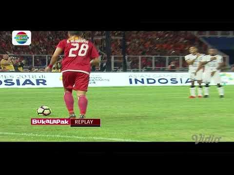 Final Piala Presiden 2018: Gol Marko Simic Persija Jakarta (1) vs Bali United FC (0)