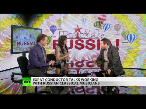 Expat conductor talks working with Russian Classical musicians