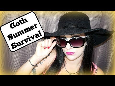 Goth Summer Survival: Pale Skin in Summer