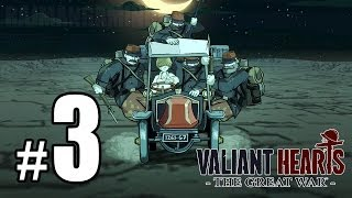 Valiant Hearts: The Great War Walkthrough PART 3 (PS4) [1080p] Lets Play Gameplay TRUE-HD QUALITY