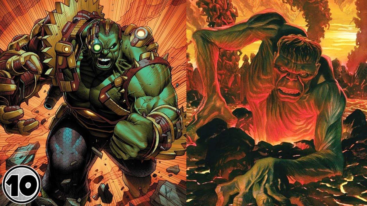 Top 10 Most Powerful Hulks