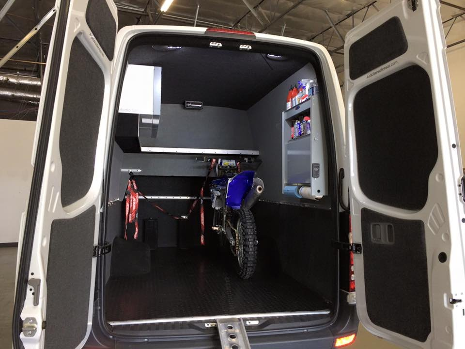 Motocross Van Conversions From Peoria Ford Commercial