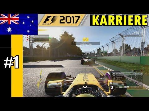 F1 2017 KARRIERE RENAULT [TEIL 1] - (VERBUGGTES) SAFETY CAR IN MELBOURNE!