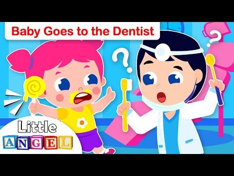 Baby Jill Goes to the Dentist | Healthy Habits | Kids Songs & Nursery Rhymes Little Angel