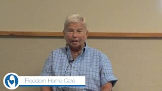Freedom Home Care Sit and Be Fit - Senior Fitness Class