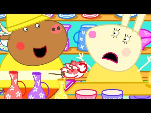 Peppa Pig Official Channel   Mr Bull Special 🔴 Mr Bull In A China Shop