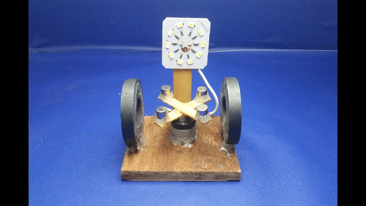 how to make free energy generator with magnet very easy at